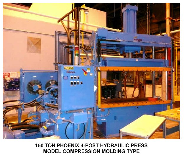 150 TON PHOENIX 4-POST HYDRAULIC PRESS for sale at