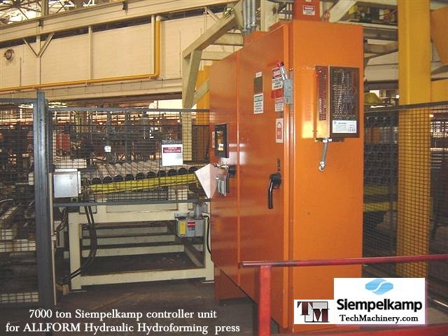 All hydraulic presses sold by Tech Machinery include motors and PLC controllers