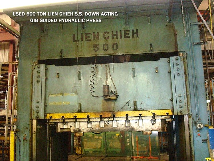 ech Machinery Sales showcasing pre-owned metal fabrication and