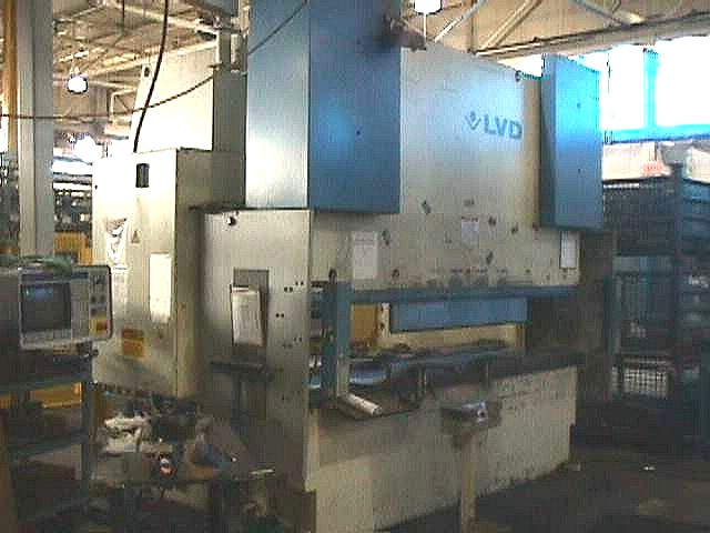 Used LVD Series PPE Down-acting Servo Driven Hydraulic Press BRAKE